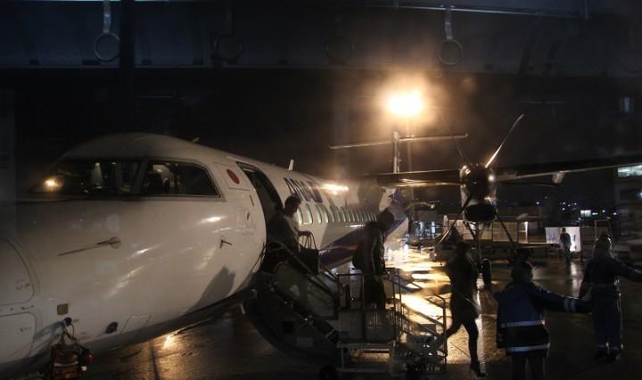 ANA prop plane