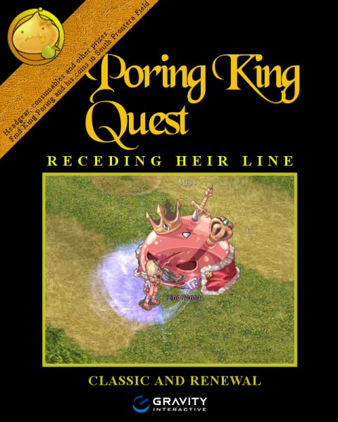 poring king quest