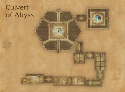 Culvert of Abyss Map