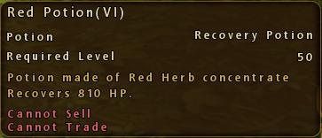 Red Potion VI Description