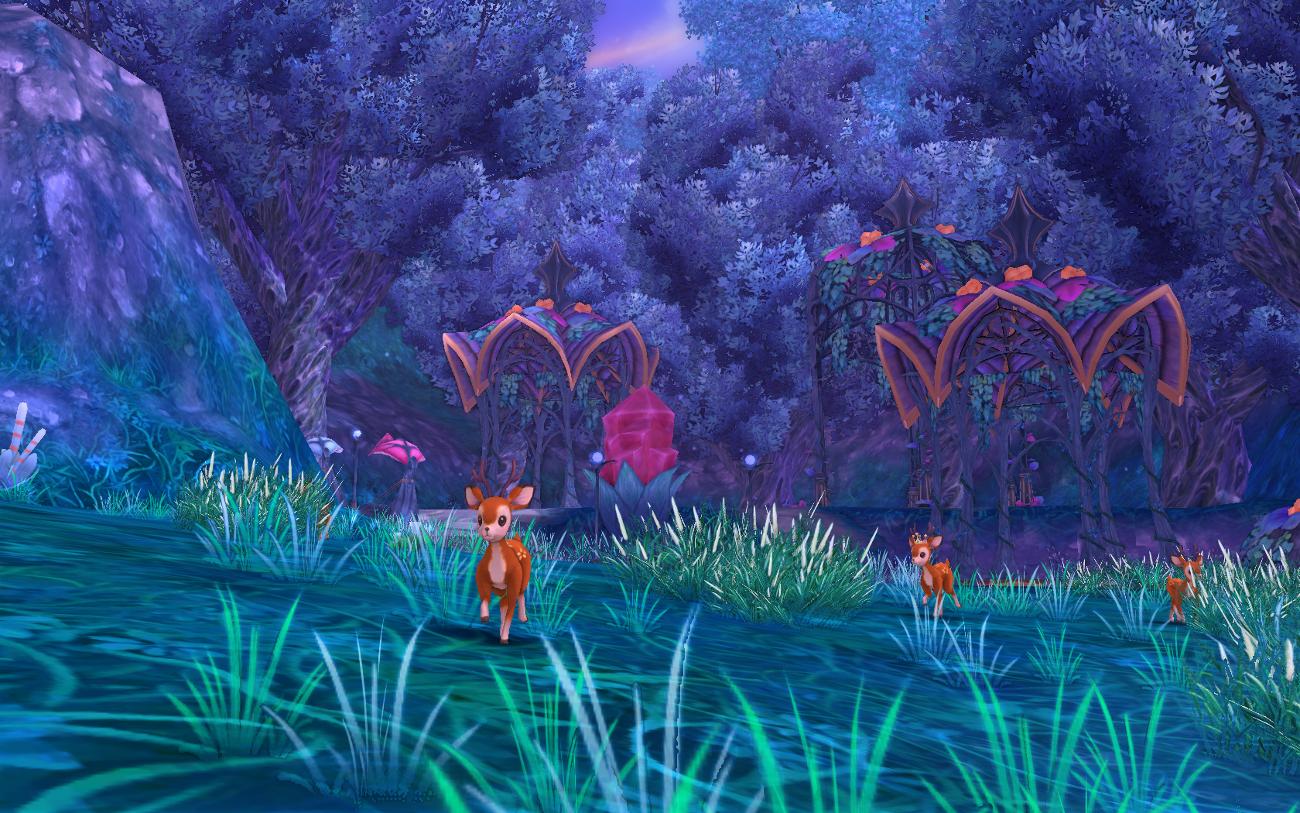 Ponii Deer